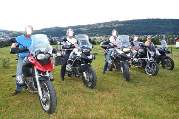 les motos sont bienvenues à La Carrée